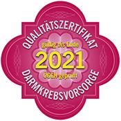 Qualitätszertifikat Darmkrebsvorsorge
